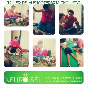 Musicoterapia inclusiva en NEUROISEL