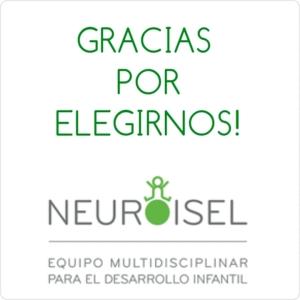 Gracias por elegirnos NEUROISEL