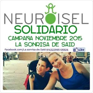 NEUROISEL SOLIDARIO Campaña LA SONRISA DE SAID