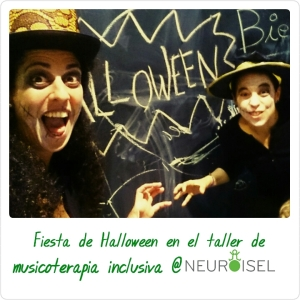 Halloween neuroisel musicoterapia inclusiva
