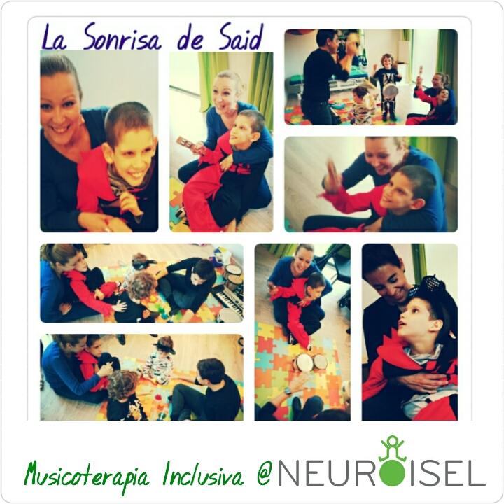 La Sonrisa de Said musicoterapia inclusiva en NEUROISEL